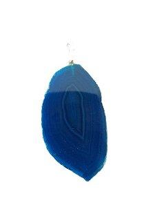 Pingente rocha azul