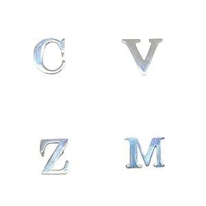 Pingente todas as letras slim