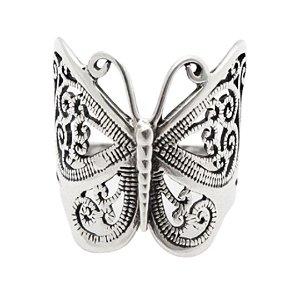 Anel borboleta boho