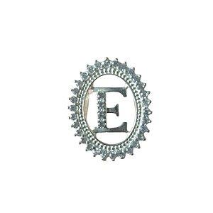 Pingente Letra E