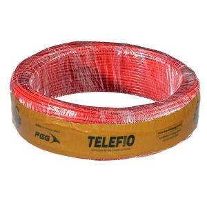 Cabo 2,5mm Vermelho Flexível 750V 100MT