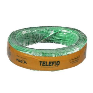 Cabo Flexível Verde 2,5mm 750V 100MT