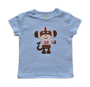 Camiseta Bebê de Macaquinho