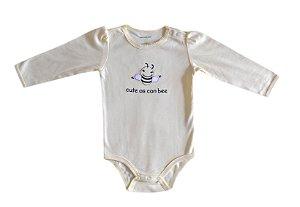 Body Bebê Abelhinha