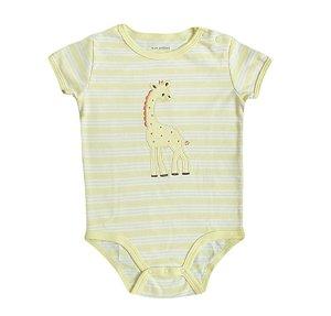 Body Bebê listrado de Girafinha