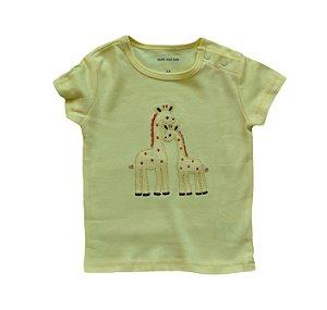 Camiseta Bebê Girafinhas