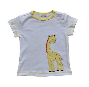 Camiseta Bebê Girafinha