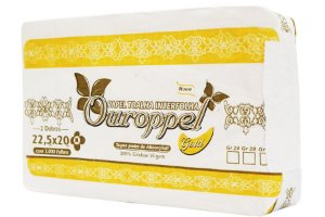PAPEL  TOALHA INTERFOLHA OUROPPEL GOLD