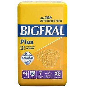 FRALDA GERIÁTRICA BIGFRAL PLUS - tam. EX - 7 unid.