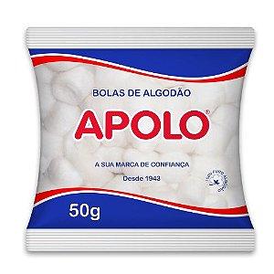 ALGODÃO APOLO BOLA BRANCA - 50G