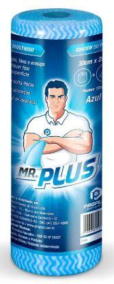 PANO MULTIUSO TALGE MR. PLUS 25m x 30cm - AZUL