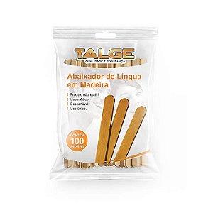 ABAIXADOR DE LÍNGUA TALGE - 100 UNID.