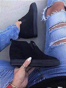 Tênis Feminino Slip On Boot Flatform