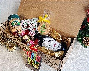 Kit Natal com Cerveja e Delícias