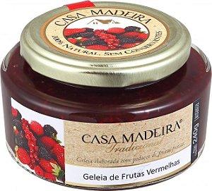 Geleia Tradicional de Frutas Vermelhas 240g Casa Madeira