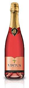 Espumante Virtus Brut Rosé 750ml -  Caixa com 06 unidades