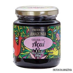 Geleia de Açaí 285g Frutos da Amazônia