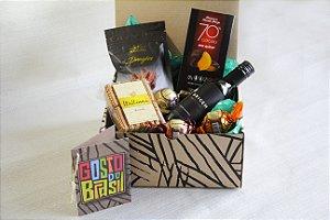 Kit Vinho Origem com chocolates