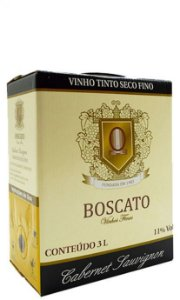 Vinho Boscato Cabernet Sauvignon Bag in Box 3L