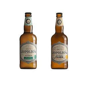 Combo Cervejas Leopoldina Pilsner e Witbier 500ml