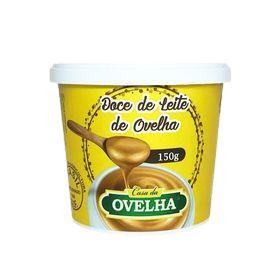 DOCE DE LEITE DE OVELHA 6% DE LACTOSE 150G
