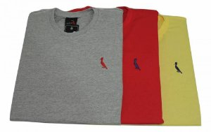 Kit Com 3 Camisetas Básica Manga Curta Reserva