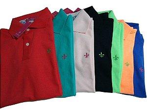 Kit Com 5 Camisa Polo Manga Curta Dudalina