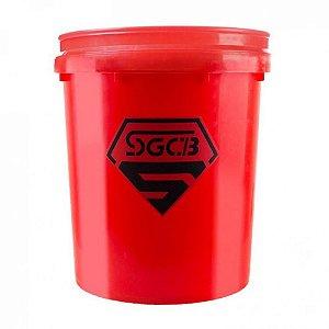 Balde para Lavagem - Vermelho SGCB