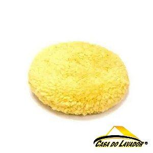 Boina de Fio Importado Amarela Lustro 6,5'' New Polish