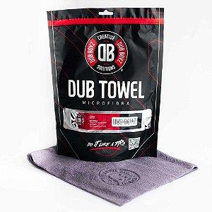 Toalha de microfibra - Db Towel - 350 GSM 40X40 (Cinza) DUB BOYZ