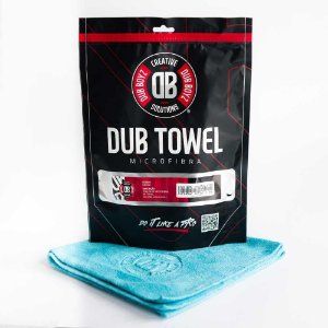 Toalha de microfibra - Db Towel - 400 GSM 40X60 (VERDE) DUB BOYZ