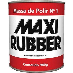 MASSA DE POLIR N1 980g Maxi Rubber