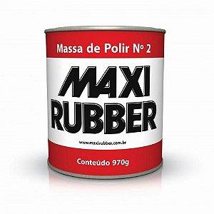 MASSA DE POLIR N2 970g Maxi Rubber