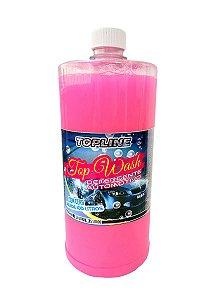 Detergente Automotivo Com Cera TopWash Concentrado 1 Litro