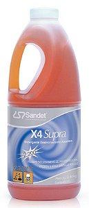 X4 Supra Desengraxante Super Concentrado 2L