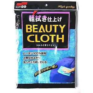 Toalha Microfibra Beauty Cloth para Lustro Pele de Raposa Soft99 32x22cm Importada