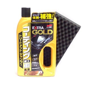 Shampoo Automotivo Extra Gold Para Carros Vitrificados 750ml - Soft99
