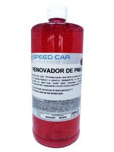 Pretinho de Pneus Renovador Red Speed Car 1000ml