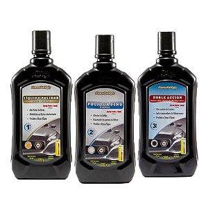 Combo Polimento New Polish - Corte + Refino + Lustro 500g
