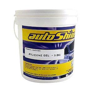 Renovador de Painel AutoShine - Gel Silicone 3,6 Kg