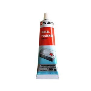 Polidor de Metais 100g Wurth - METAL POLISHER