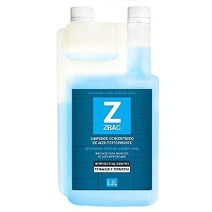 Limpador concentrado bactericida ZBAC 1200ml EASYTECH