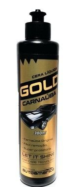 Cera líquida Gold Carnaúba 300ml