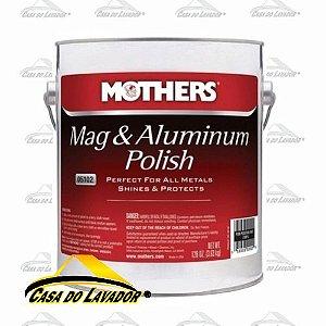 Mag e Aluminum Polish - Polidor de metais Galão Mothers 3,63kg
