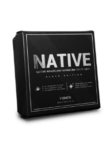 NATIVE PASTE WAX PARA CARROS ESCUROS – BLACK EDITION - VONIXX