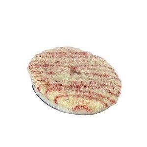 """Boina de Lã Com Interface Corte Pesado 5.5"""" Listra Vermelha Lincoln"""