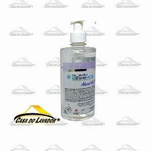 Álcool em Gel 70° Higienizador Blimm 500ml C/ Bico Pump