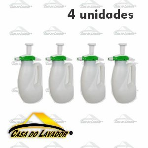 4 PULVERIZADORES DE COMPRESSAO PREVIA GUARANY 1,2L