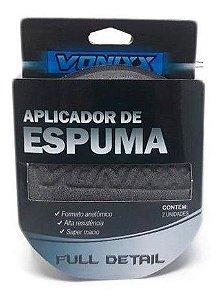 Aplicador de Espuma Cinza - Pacote C/ 2 und.  Vonixx