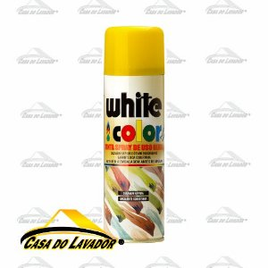 OrbiSpray Tinta Spray Amarelo 340ML/190G